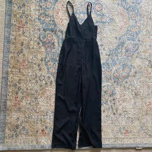 Madewell Black Jumpsuit